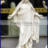 2013 modern tradional jesus christ statue in white marble