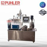 Puhler 380V / 220V Laboratory Nano Bead Mill For Ceramic Ink / Lithium Battery Materials