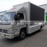 New foton LED mobile advertising truck,digital mobile billboard truck for sale
