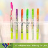 multi color highlighter set with double tips