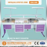 Double Dental lab Workstation for laboratory with CE lab table