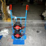 hand trolley with coating frame and air wheel
