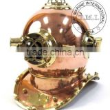 COPPER & BRASS DIVING HELMET MARK IV - NAUTICAL DIVER'S HELMET MARK IV - VINTAGE REPRODUCTION