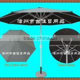 CWF-300DG 3M 100% cotton fabric windproof eyelet fire retardancy outdoor special umbrella