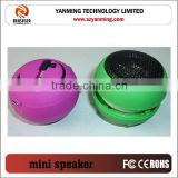 professional mini hamburger wired speaker for mp3 mobile phones smart phone