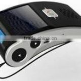 Car bluetooth handsfree kit with solar power