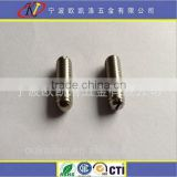 slotted set screw thermal Durock set screw