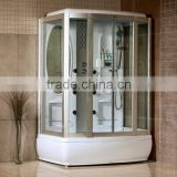 Shower enclosure with bathtub, 1500mm complete shower room, integrated shower room, Digital controlled shower room T118