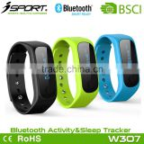 Phone Call SMS Notification Bluetooth Waterproof Fitbit Activity Wrist Band Tracker Brac