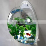 wall mounted blow mould mini hanging acrylic fish bowls,acrylic fish tank,acrylic aquarium