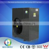 High Quality air source bath tub heater pump high temperature heat pump 80 degree