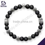 hot sale costume silver jewelry making rope bracelet