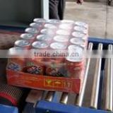Automatic PP PE POF PVC film Shrink film packing machine for Bottles, cans, jars, bricks