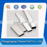 Stainless steel polishing cigarette filter tube