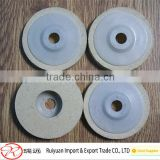 Bulk Wholesale 4 inch backing wool polishing wheel with white Plastic