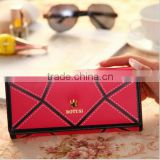 Hot fashion crown elegant leather purse , fashion wallet ,women purse alibaba china direct factory