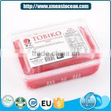 Seafood flying fish roe red frozen seasoned tobiko