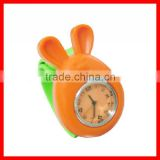 Popular silicone kids slap watch korea mini watch brand