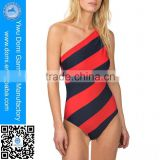 Sexy one-shoulder beach wear bikini brazil young girls nude monokini bikini beachsuits monokini swimwear