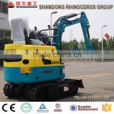 0.8 Ton China High Quality Hydraulic Rubber Crawler Excavator , CE / ISO Certificate,XN08