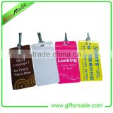 bright color luggage tag/custom color luggage tag/hot sales luggage tag