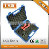 LSD good quilty LY03C-5D3 COMBINATION TOOLS IN PLASTIC BOX Mini Combination Tools CRIMPING crimping pliers 4 DIE SETS