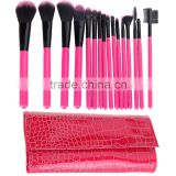 Professional Makeup Brushes Kit Cosmetic Make Up Brushes Set + Pouch Bag Case styling tools face eyes care 16Pcs/set