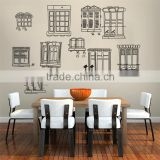 "130x90cm (51""x36"") Windows and Cat Wall Stickers Home Decor DIY Adesivo de Parede Bathroom Bedroom Vinyl Decals Mixable JM7071"