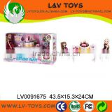 2013 New Design Good Quality Plastic Doll Set with IC as gift for kids' birthday party games with EN71
