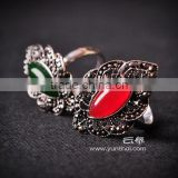 Top selling beautiful lady ring with maracasite