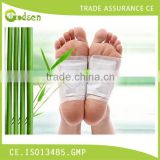 Relax Health Broadcast Japanese BAMBOO VINEGAR Detox Foot Patch, detox foot pad
