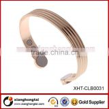 New products 2016 New design Jewelry Copper Magnet Bangle