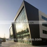 Glass curtain wall price facade panel alucobond aluminium composite panel price