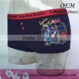 Modal printed women panties lady antibacterial underwear sexy ladies knickers boy shorts
