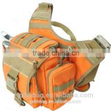 Outdoor Canvas Army Saddle Bag Bicycle