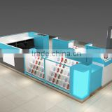 Factory retail cell phone accessories showcase and display table