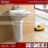 Nice Style Ceramic Wash Basin Hot Selling In Saudi Arabia Market_Sanitary Ware Series SASO Pedestal Basin with Toilet