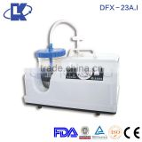 DFX-23A.I Phlegm Vacuum Suction Devices ELECTRIC SUCTION APPARATUS portable suctions pumps