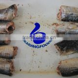 Canned Fish Product Best Quality China Good Flavored Canned Mackerel in Water and Salt Added