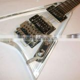 high quality promotional acrylic guitar body display