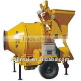 JIH HE Hot sale JHZC/MC High quality concrete mixer of self loading mobile concrete mixer machine
