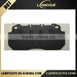 China Factory Price High Quality Premium Semi-metallic brake pad WVA29090 for volvo truck