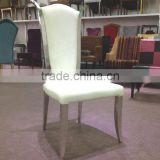 Chinese supplier brushed stainless steel chair furniture dining chair