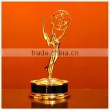 Custom 2016 Emmy Trophy metal dancing trophies