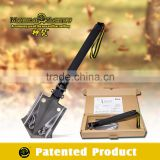 Garden Equipment/Hand Tool Set/Outdoor Multifuction Shovel with Flint Rock Fire Starter, blade ,wire cutter
