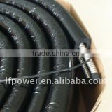 Insulated solar hose double pipe
