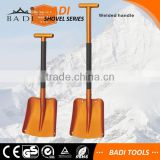 big welded telescopic T hand lightweight aluminum snow shovels
