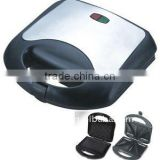 2 slice triangle plate electric sandwich maker