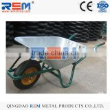 heavy duty wheelbarrow wb6414t air wheel orange wheel rim load 100-200kg