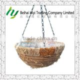 Hanging basket Garden pot Rattan basket Flower basket Plant pot Baskets wholesale Wicker basket